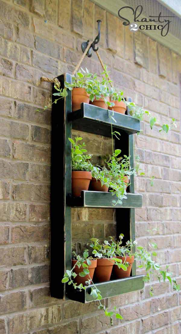 73 Hanging Planter Ideas to Try in All Seasons - MORFLORA on Hanging Plants Ideas  id=87397