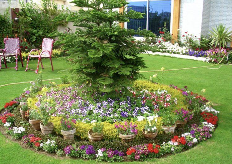 flower bed ideas