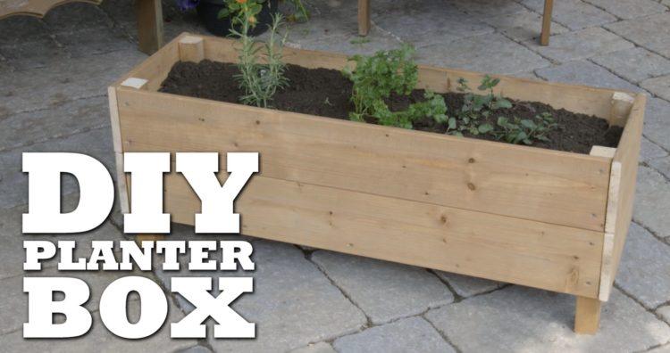 diy planter box ideas